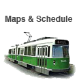MBTA Greenline Map & Schedule