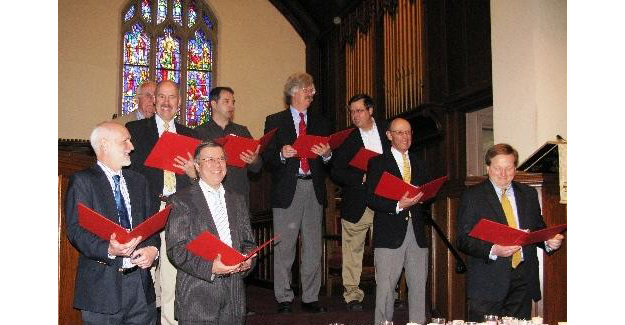 Mens Choir on Mothers Day
