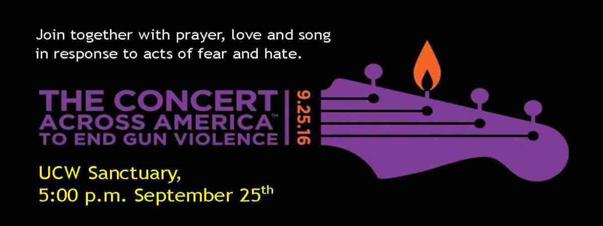 Permalink to: Concert Across America To End Gun Violence